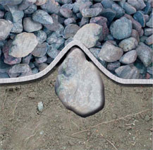 Неровности поверхности